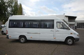 Minibus rental in riga latvia coach hire tourist for Mercedes benz minibus rental